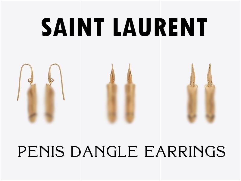 YSL gây shock với mẫu khuyên tai và vòng đeo cổ hình bộ phận sinh dục nam giá hơn 20 triệu đồng-1