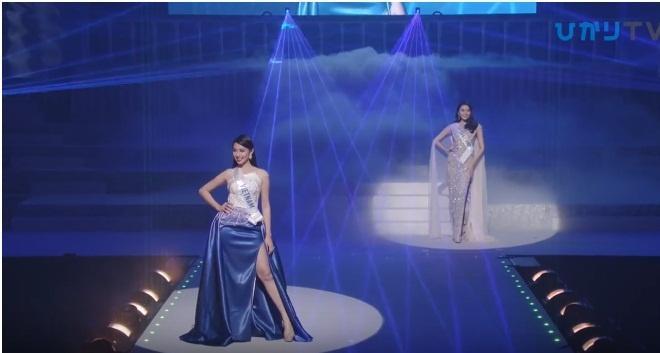 Đại diện Việt Nam Thùy Tiên suýt ngã khi trình diễn quốc phục, trượt top 15 người đẹp nhất Hoa hậu Quốc tế 2018-8