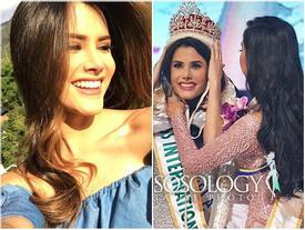 Nhan sắc ngắm là mê của người đẹp Venezuela vừa đăng quang Hoa hậu Quốc tế 2018