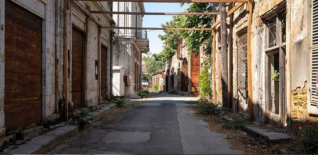 Những bức ảnh hiếm hoi về thị trấn ma tại Síp-1