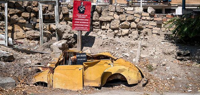 Những bức ảnh hiếm hoi về thị trấn ma tại Síp-2