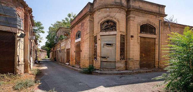 Những bức ảnh hiếm hoi về thị trấn ma tại Síp-9