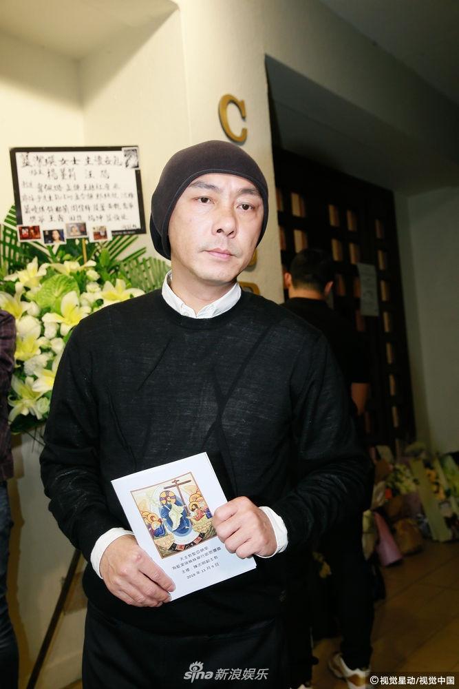 Dàn sao hạng A Hong Kong không kìm nổi sự đau xót khi đến viếng lễ tang ngọc nữ bạc mệnh Lam Khiết Anh-6