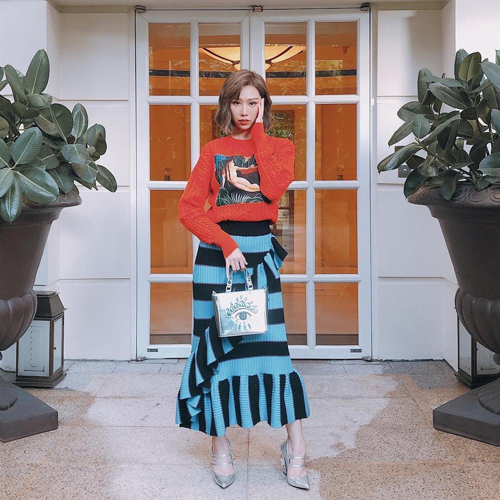Gió lạnh về, tham khảo ngay bí kíp mặc đẹp từ street style của Chi Pu, Châu Bùi, Trinh Phạm đi thôi!-7