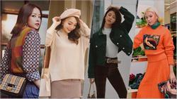 Gió lạnh về, tham khảo ngay bí kíp mặc đẹp từ street style của Chi Pu, Châu Bùi, Trinh Phạm đi thôi!