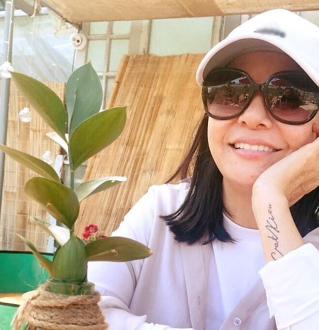 Sau scandal, Cát Phượng xăm hẳn tên Kiều Minh Tuấn lên tay-1