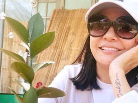 Sau scandal, Cát Phượng xăm hẳn tên Kiều Minh Tuấn lên tay