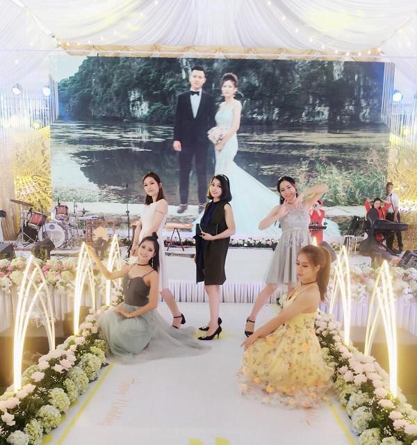 Hé lộ thêm hình ảnh xa hoa về đám cưới rộng 1.000 m2, chi phí trang trí 1 tỷ đồng của cặp trai xinh gái đẹp ở Vĩnh Phúc-6