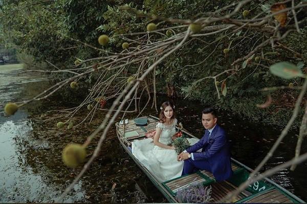 Hé lộ thêm hình ảnh xa hoa về đám cưới rộng 1.000 m2, chi phí trang trí 1 tỷ đồng của cặp trai xinh gái đẹp ở Vĩnh Phúc-7