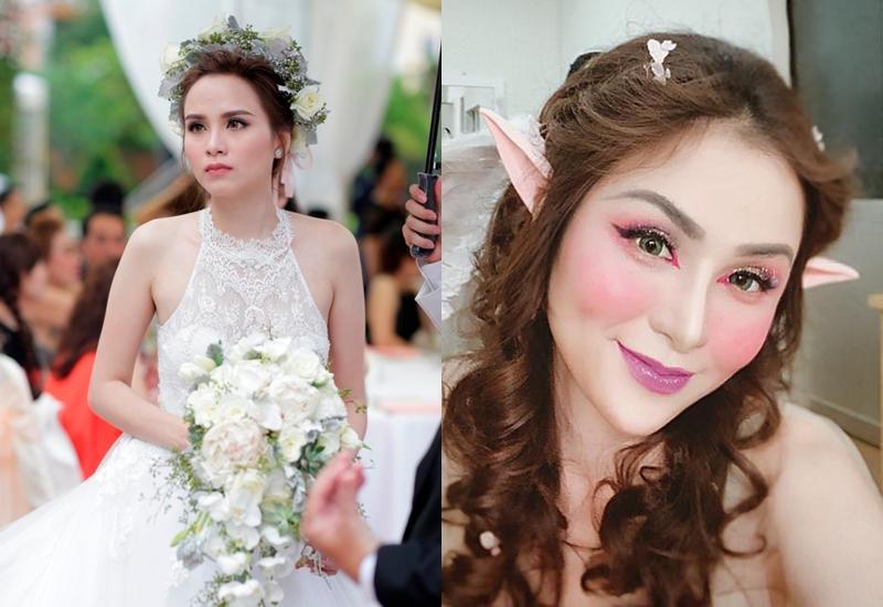 Hoa hậu Diễm Hương gây xôn xao với gương mặt bị nghiệp đoàn mạng nhận xét chẳng khác nào búp bê hư-11