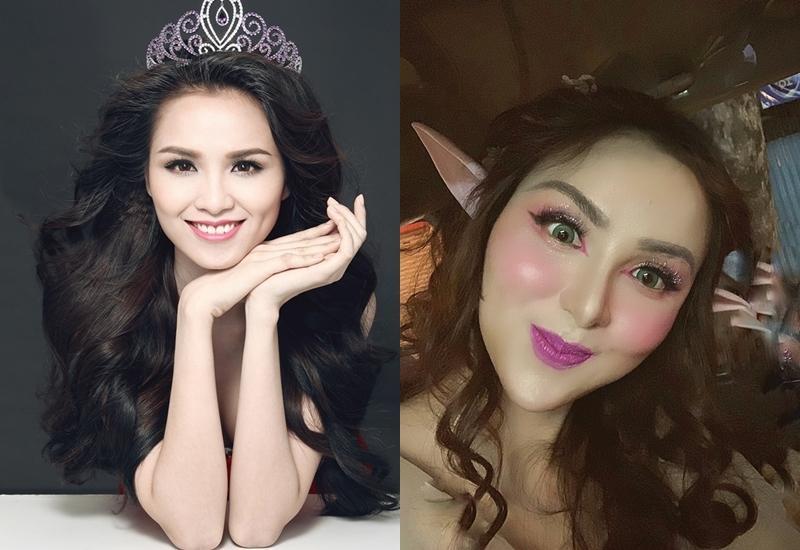 Hoa hậu Diễm Hương gây xôn xao với gương mặt bị nghiệp đoàn mạng nhận xét chẳng khác nào búp bê hư-12