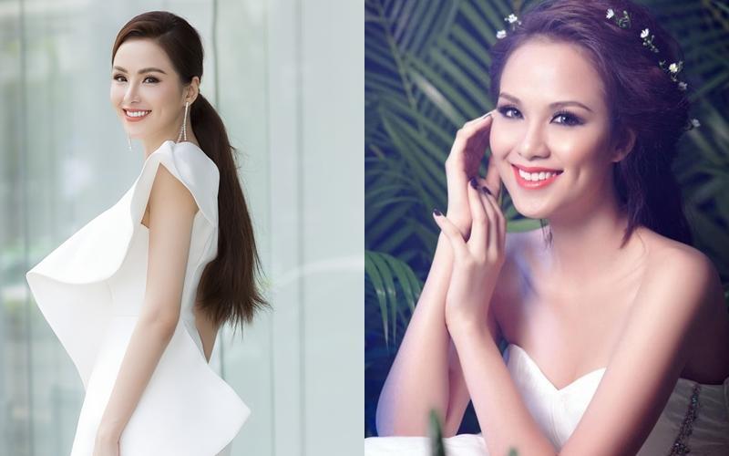Hoa hậu Diễm Hương gây xôn xao với gương mặt bị nghiệp đoàn mạng nhận xét chẳng khác nào búp bê hư-18