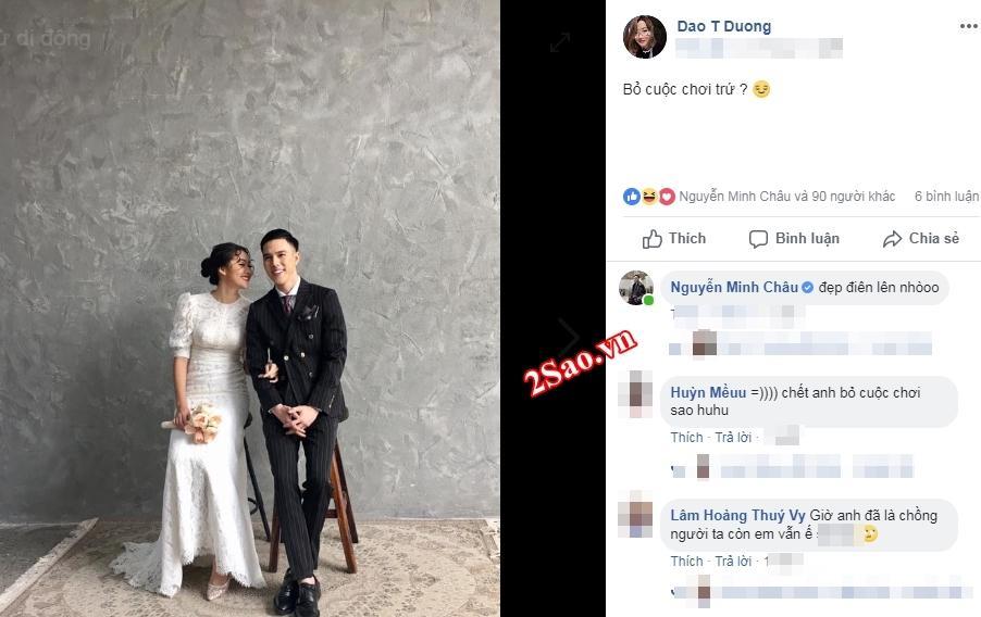 Hotboy Minh Châu khiến fan nữ lòng đau như cắt trước thông tin chuẩn bị làm chồng người ta?-4