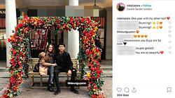 Chỉ một status yêu đương, em chồng sáng giá nhà Hà Tăng chính thức xác nhận có bạn gái là người ngoại quốc