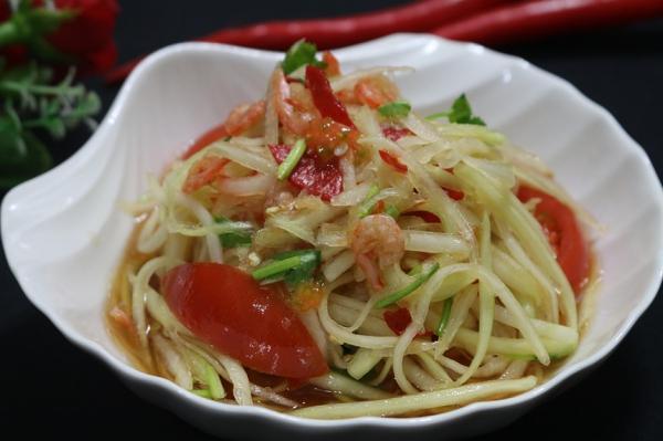 Tối nay ăn gì: Gỏi đu đủ kiểu Thái nâng cao chất lượng bữa cơm-1