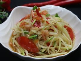 Tối nay ăn gì: Gỏi đu đủ kiểu Thái nâng cao chất lượng bữa cơm