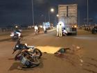 Va chạm với xe container, 2 thanh niên chết thảm trên cầu Đồng Nai