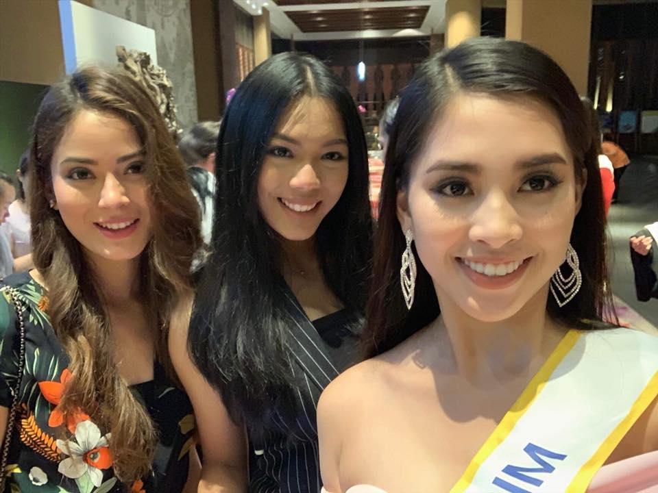 Mới ngày đầu xuất trận tại Miss World 2018, Tiểu Vy đã được khen ngợi là bản sao của nữ thần sắc đẹp Li Băng-2