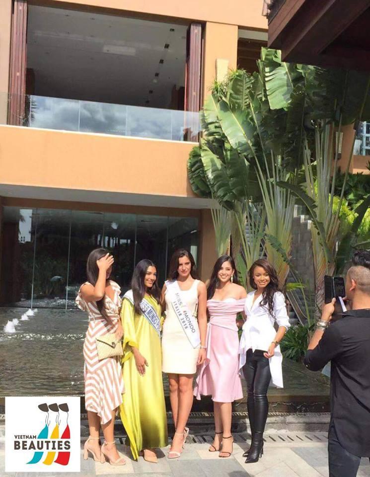 Mới ngày đầu xuất trận tại Miss World 2018, Tiểu Vy đã được khen ngợi là bản sao của nữ thần sắc đẹp Li Băng-8