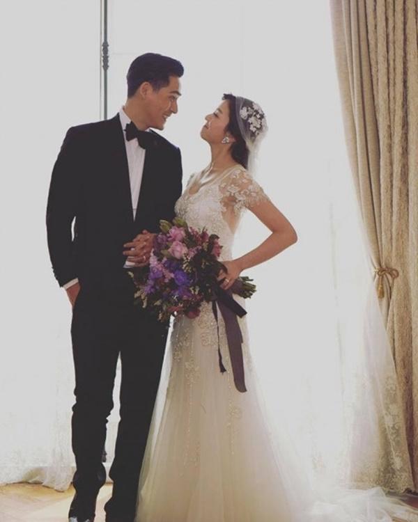 Sau 3 năm kết hôn, vợ chồng Châu Du Dân lần đầu khoe ảnh cưới-1