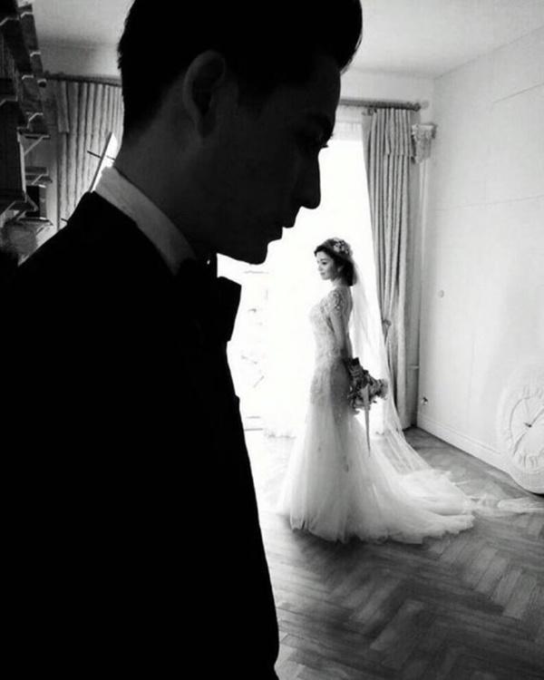 Sau 3 năm kết hôn, vợ chồng Châu Du Dân lần đầu khoe ảnh cưới-2