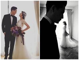 Sau 3 năm kết hôn, vợ chồng Châu Du Dân lần đầu khoe ảnh cưới