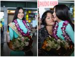 Hoa hậu Trái Đất 2018 Nguyễn Phương Khánh trở về Việt Nam trong vòng vây người hâm mộ