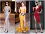 CUỘC CHIẾN THẢM ĐỎ: Hoa hậu Tiểu Vy - Ninh Dương Lan Ngọc diện váy xẻ hông cao tít tắp lấn át dàn mỹ nhân