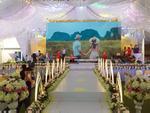 Xôn xao đám cưới khủng ở Cao Bằng: Trang trí 100% bằng hoa tươi, chỉ bắc rạp thôi đã ngốn 2,5 tỷ đồng-12