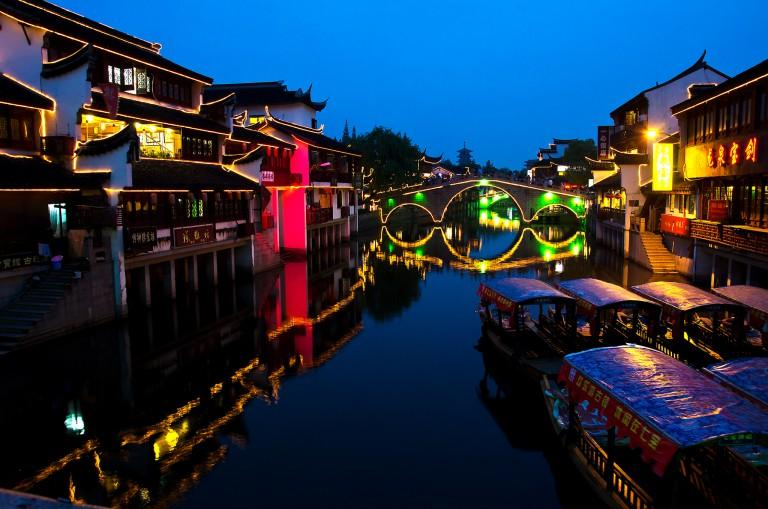 Từ bến Thượng Hải quay ngược về quá khứ tại những thị trấn lãng mạn này-1