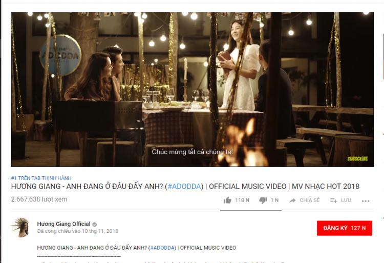 Hương Giang khóc ngất vì MV thắng lớn: 6 năm chưa biết #1 Trending là gì!-4