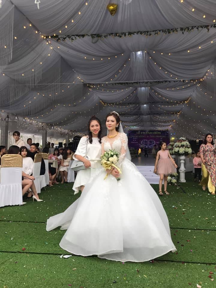 Hé lộ thêm những hình ảnh cô dâu 18 tuổi đẹp như hotgirl trong đám cưới nhiều tỷ tại Vĩnh Phúc-7
