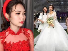 Hé lộ thêm những hình ảnh cô dâu 18 tuổi đẹp như hotgirl trong đám cưới nhiều tỷ tại Vĩnh Phúc
