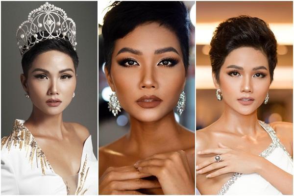 Sát ngày thi Miss Universe 2018, HHen Niê gây hoang mang với thông báo sẽ cắt tóc ngắn hơn-9