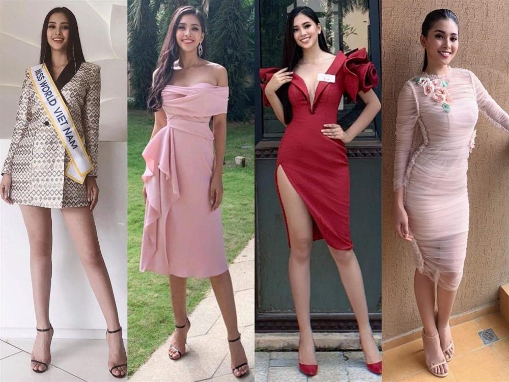 Liên tiếp diện đầm hồng phong thủy, Tiểu Vy được khen khôn ngoan khi chinh chiến Miss World 2018-7