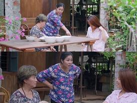 'Gạo nếp gạo tẻ' tập 82: Ghê gớm như Hồng Vân cũng có ngày phải chịu thua em dâu lười chảy thây