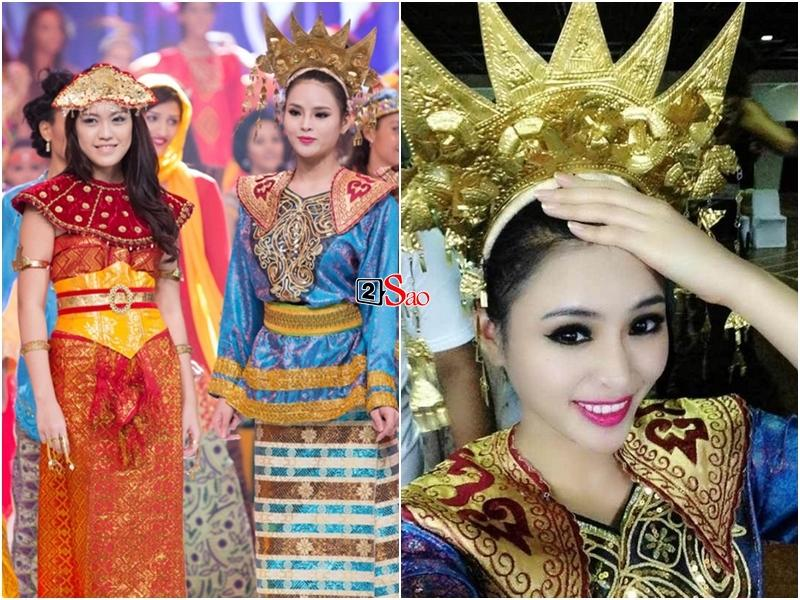 Loạt trang phục biểu diễn Dance of the World độc đáo của đại diện Việt Nam trên đấu trường nhan sắc thế giới-3