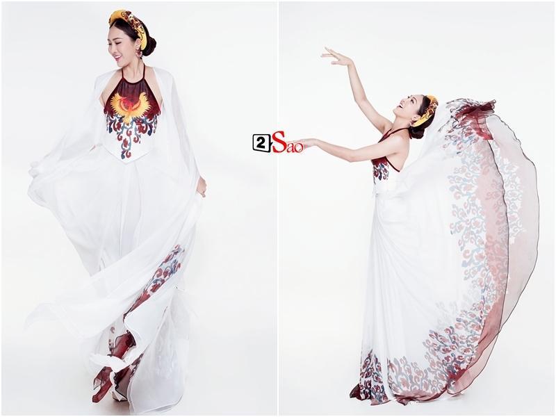 Loạt trang phục biểu diễn Dance of the World độc đáo của đại diện Việt Nam trên đấu trường nhan sắc thế giới-9