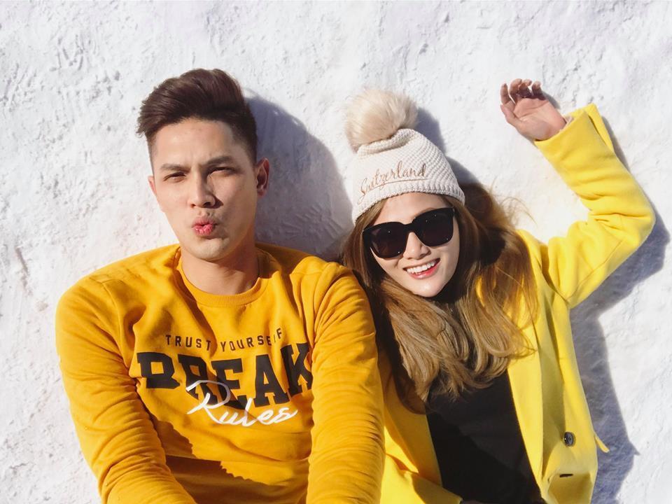 Em gái xinh đẹp của ca sĩ Quang Vinh lần đầu chia sẻ mối tình 9 năm bên ông xã là cơ trưởng điển trai-5