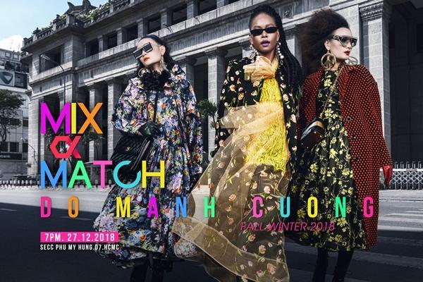 Đỗ Mạnh Cường tổ chức show diễn thứ 13 Mix & Match-1