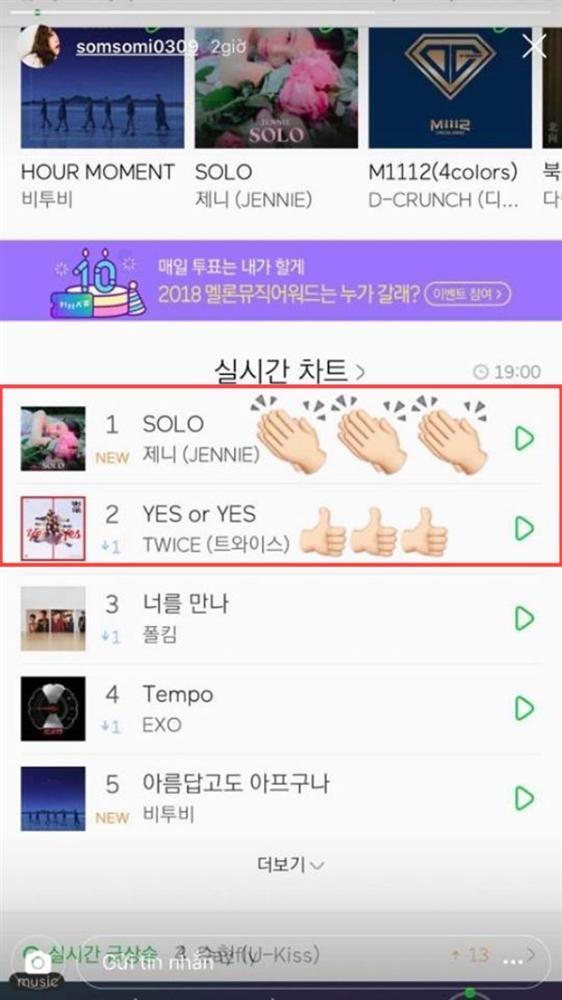 Chúc mừng tiền bối Jennie được No.1, Somi bị cả cộng đồng fan TWICE ném đá vì lý do này-1