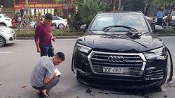 Thông tin mới nhất vụ xe Audi lùi như tên bắn, tông hàng loạt người và phương tiện trên phố Hà Nội