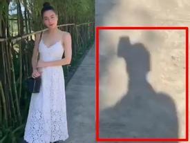 Chỉ một clip tạo dáng, Hồ Ngọc Hà lại khiến Kim Lý bị réo tên dù cố tình 'núp lùm'