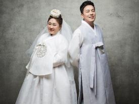 Nữ diễn viên hài tiết lộ ảnh cưới đáng yêu sau khi cấp tốc giảm 30kg để mặc váy cưới