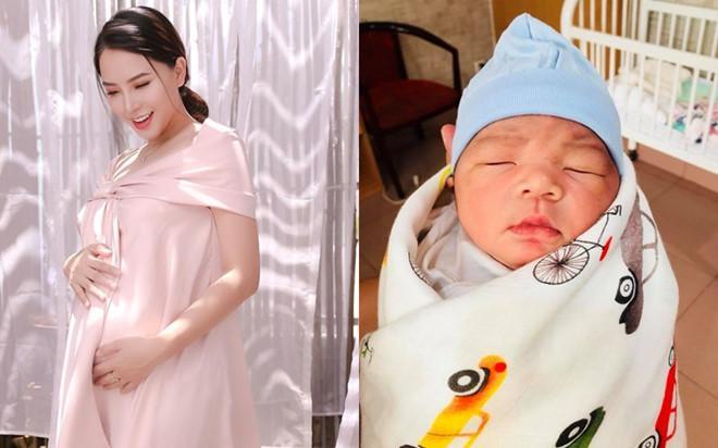 Hải Băng bị cảnh báo nguy hiểm vì mang thai lần 3 chỉ sau 1 tháng sinh mổ, ông xã cạo tóc cầu xin vợ bình an-1