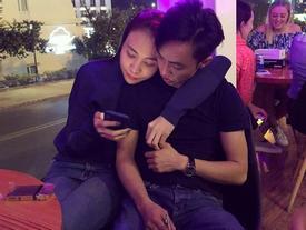 Công khai sắp về chung nhà, Đàm Thu Trang và Cường Đô La giờ chẳng còn ngần ngại ôm ấp nhau giữa chốn đông người