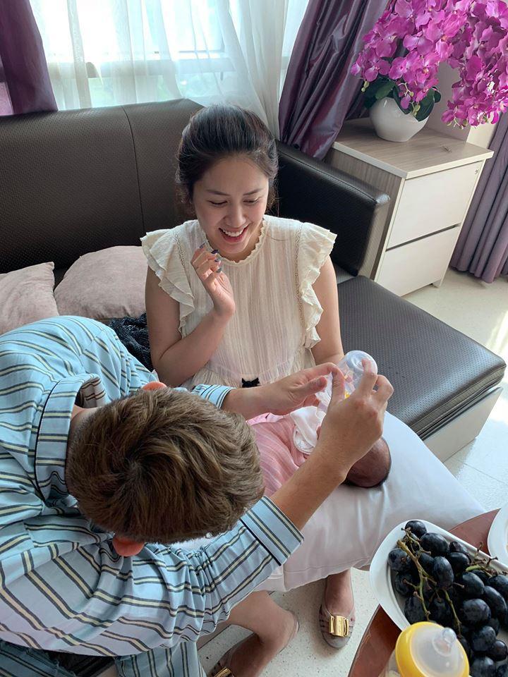 Chồng làm cơ trưởng thì đã sao? Em gái Quang Vinh còn khiến hội bỉm sữa xuýt xoa khi đẻ ở bệnh viện sang như khách sạn 5 sao-9