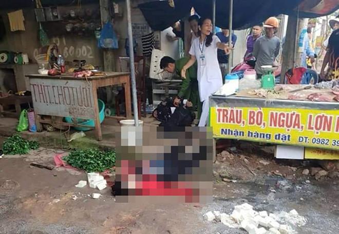 Một phụ nữ bị bắn nhiều phát đạn ngay giữa chợ-1