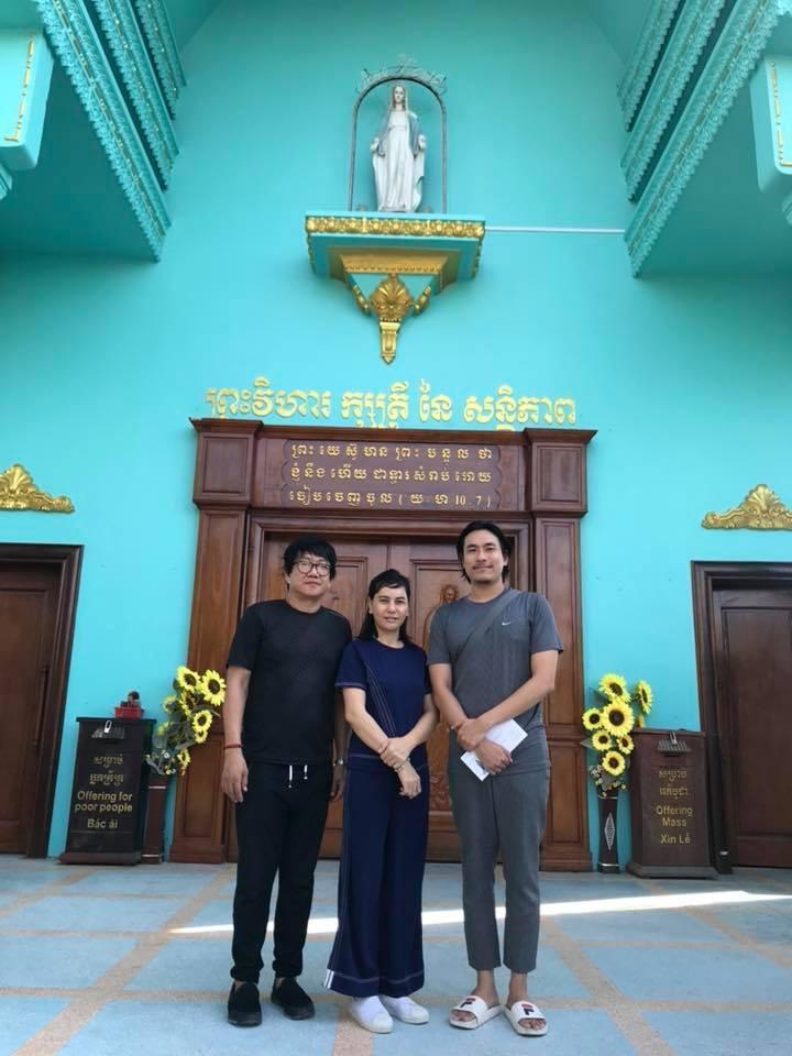 Cát Phượng và Kiều Minh Tuấn cùng nhau du hí Campuchia-5