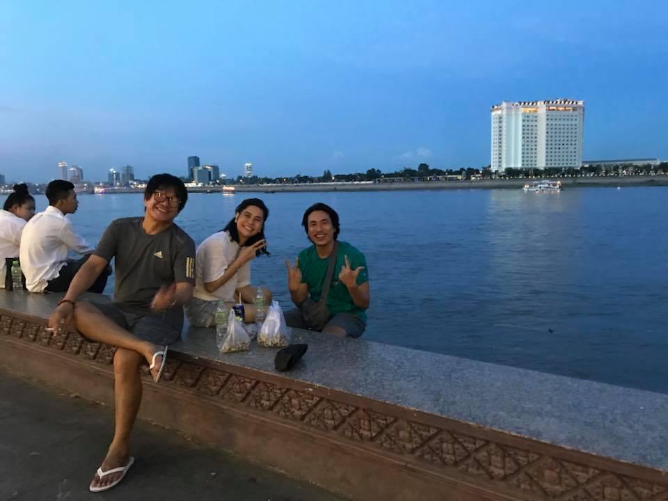Cát Phượng và Kiều Minh Tuấn cùng nhau du hí Campuchia-9